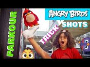 Getting Active with Angry Birds - Parkour & Trick Shots