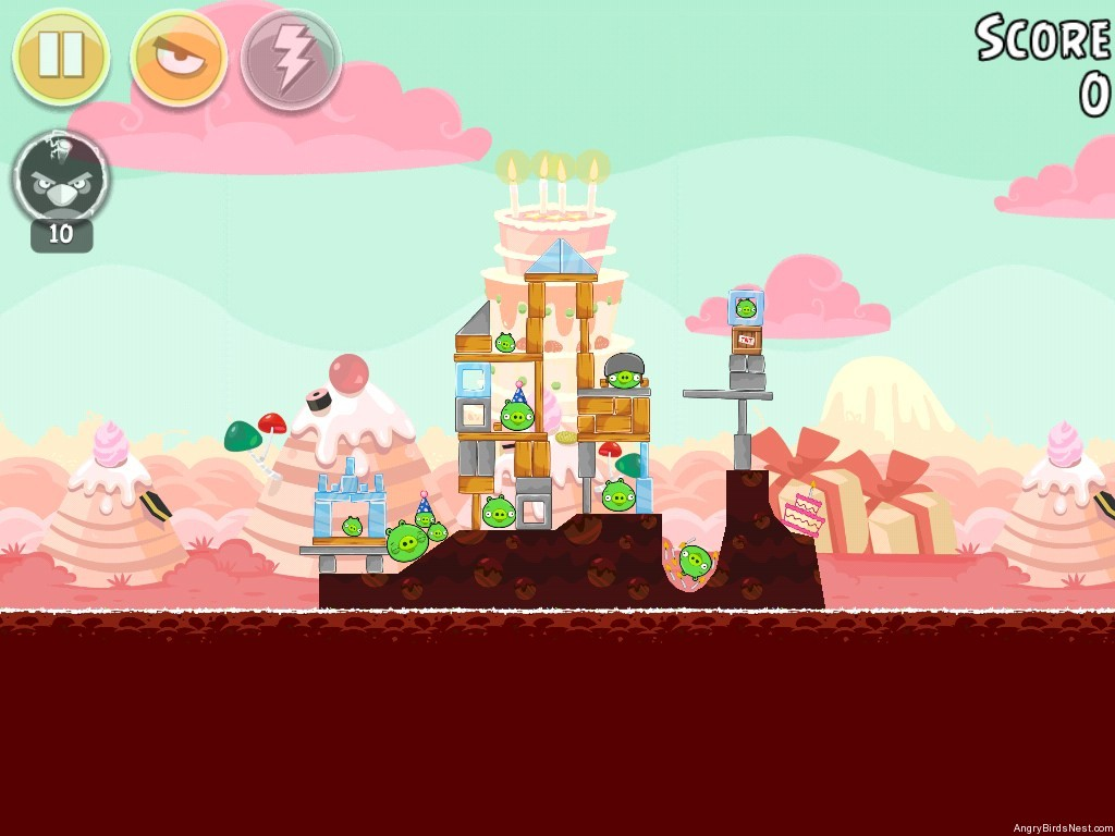 Birdday Party Cake 4 Level 7