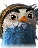 Flocker Blue Portrait 045