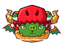 Angry Birds Fight! - Monster Pigs - Dragon Pig.png