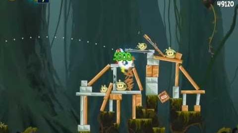 Path of the Jedi J-1 (Angry Birds Star Wars)/Video Walkthrough
