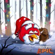 Red Santa Epic Poster