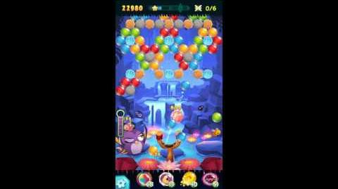 Angry Birds POP! Level 24 Golden Feather (Gale) Walkthrough