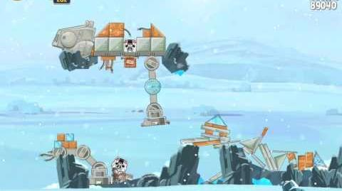 Hoth 3-13 (Angry Birds Star Wars)/Video Walkthrough