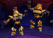 Energon Bee with Classic Bee