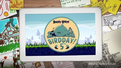 Agent KM/Создай свой уровень к 5-летию Angry Birds!