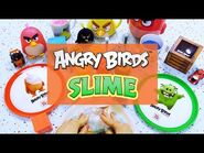 Angry Birds SLIME - Colorful & Relaxing