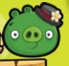 Cerdo Dama Angry Birds Radox