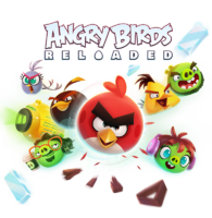 Angry Birds Reloaded Artwork - Characters and Logo