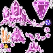 Cosmic Crystals Decorations