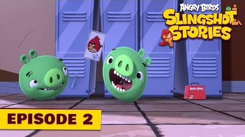 Angry Birds Slingshot Stories Ep 2. 2 - Starstruck