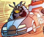 Angry Birds Transformers Issue 2 Drift Vehicle Mode