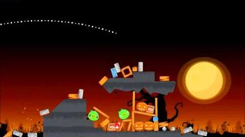 Official Angry Birds Seasons Walkthrough Trick or Treat 3-1