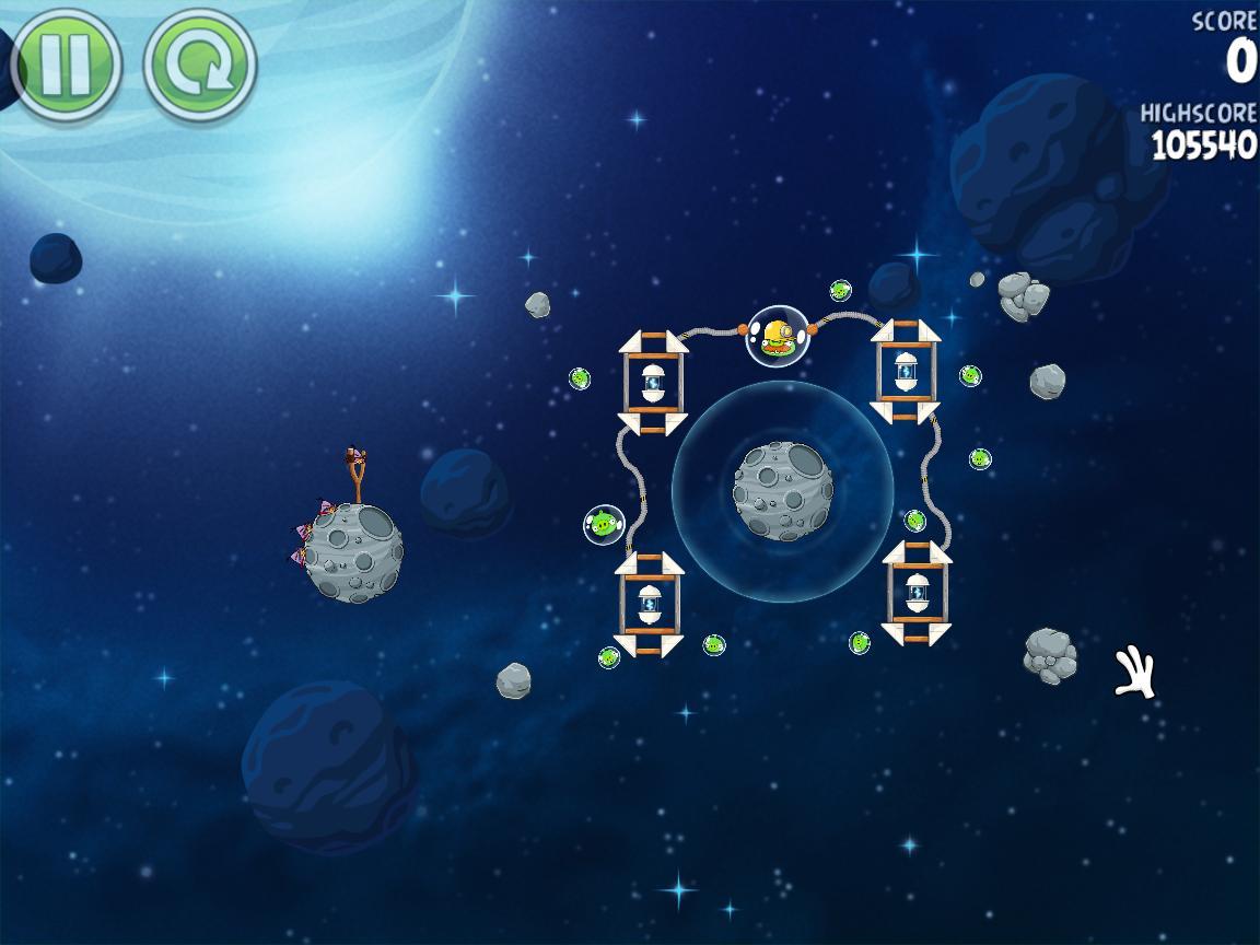 Beak Impact 8-15 (Angry Birds Space)