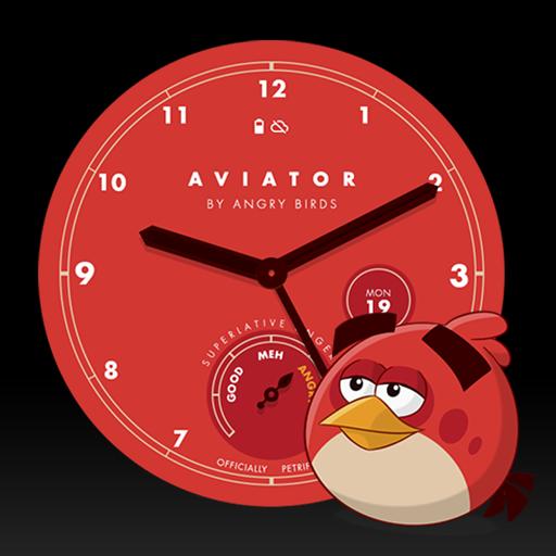 Angry Birds Aviator Watch Face