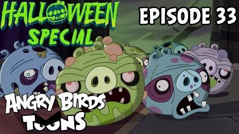 Angry Birds Toons Night of the Living Pork - S1 Ep33 Halloween