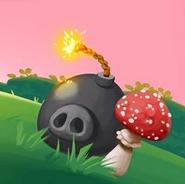 Cerdo Explosivo Angry Birds Friends Promo