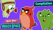 Angry Birds MakerSpace Compilation - S1 Ep6-10