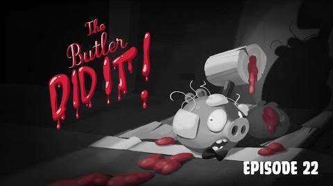 Angry Birds Toons - Season 3, Episode 22 The Buttler did it!