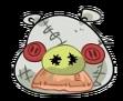 Cerdo Espantapájaros Bigote