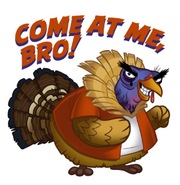 Cold Turkey Sticker