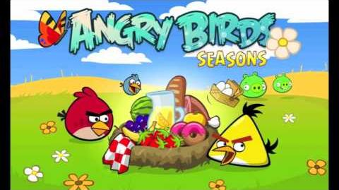 Angry Birds Summer Pignic theme