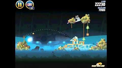 Hoth 3-28 (Angry Birds Star Wars)/Video Walkthrough
