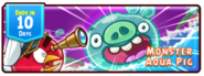 Angry Birds Fight! - Monster Pigs - Incoming Aqua Pig