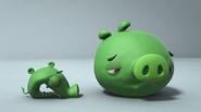 Мутант-свинья и большая свинья