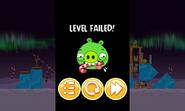 Angry Birds Seasons - проигрыш