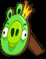 Cardboard king pig