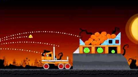 Official Angry Birds Seasons Walkthrough Trick or Treat 3-4