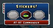 AT-AT Commander Sticker
