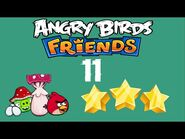 -11- Angry Birds Friends - Pig Tales - 2 birds - 3 stars