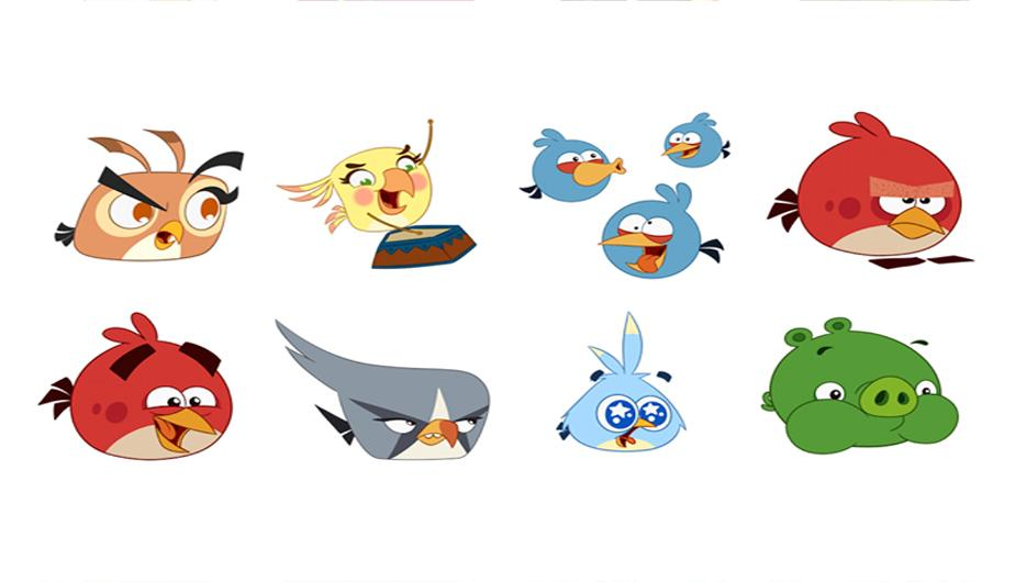 Angry Birds Stickers (Facebook Messenger)