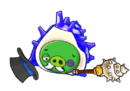 Angry Birds Fight! - Monster Pigs - Sazae Family - Sazae Papa - Win