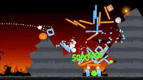 Official Angry Birds Seasons Walkthrough Trick or Treat 3-8