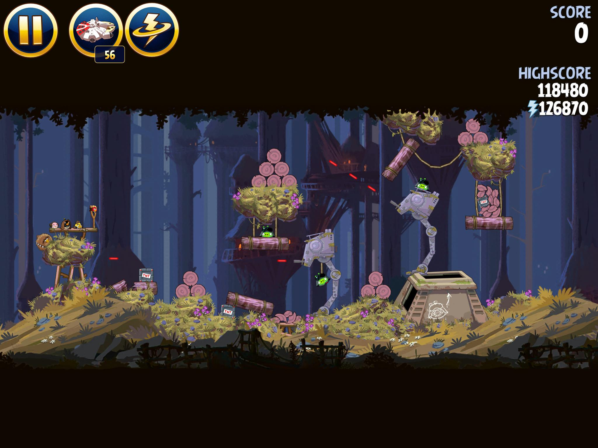 Moon of Endor 5-30 (Angry Birds Star Wars)