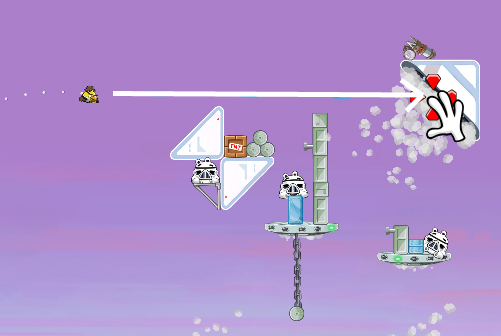 Cloud City 4-8 (Angry Birds Star Wars)