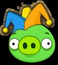 Cerdo Bufón Angry Birds