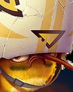 Flocker Yellow Portrait 012