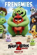 Angry Birds Movie 2 Frenemies Poster