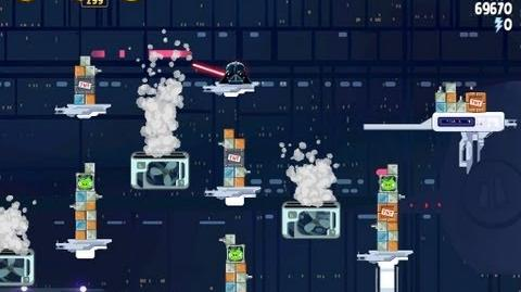 Cloud City 4-40 (Angry Birds Star Wars)/Video Walkthrough