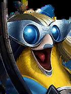 Flocker Tall Sia E2b Yellow