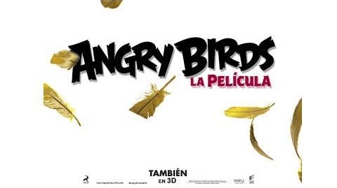 ANGRY BIRDS LA PELÍCULA. Motion póster