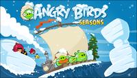 Angry Birds Seasons Loading Screen Arctic Eggspedition