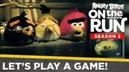 Angry Birds on the Run S2 Let's Play a Game – Halloween Special