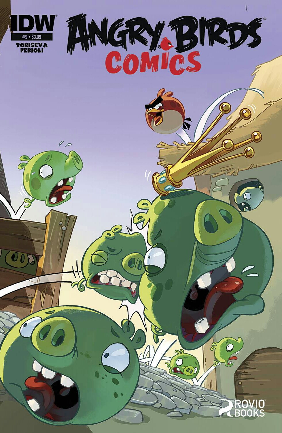 Angry Birds Comics Issue 9