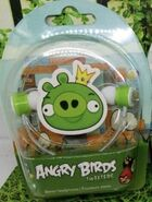 Angry Birds Gear4 Tweeters King Pig (Wall-eyed (Green) Pig King, New Version)