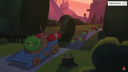 Angry Birds Toons Slumber Mill Angry Racer Pigs